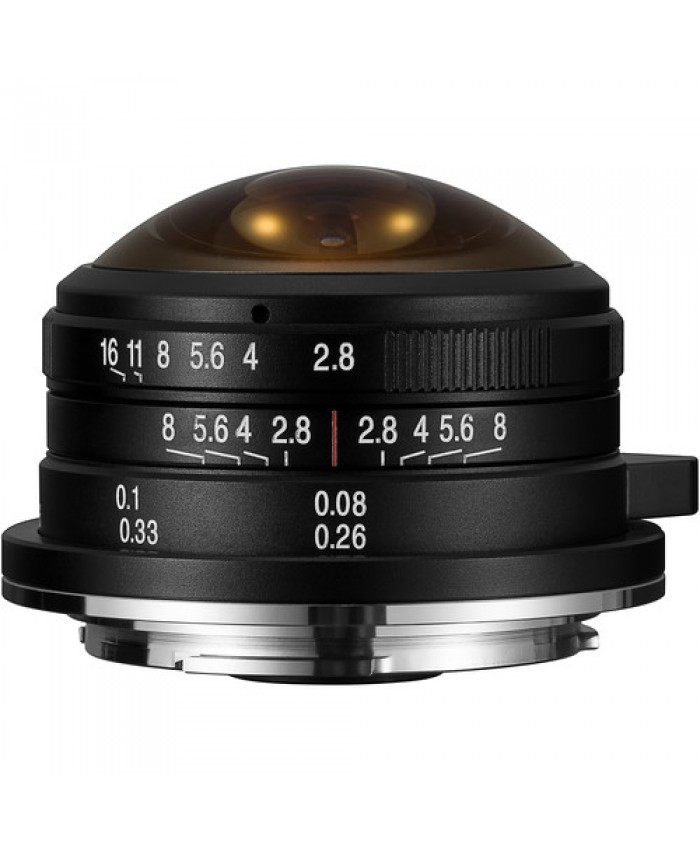Laowa 4mm f/2.8 Fisheye Lens for Sony E