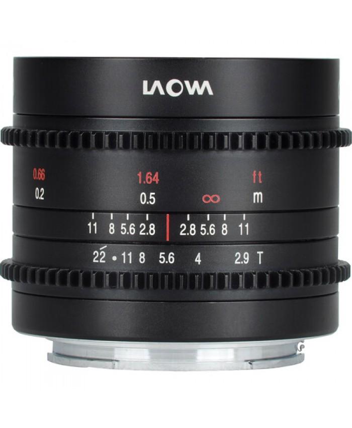 Laowa 9mm T2.9 Zero-D Cine Lens Sony E