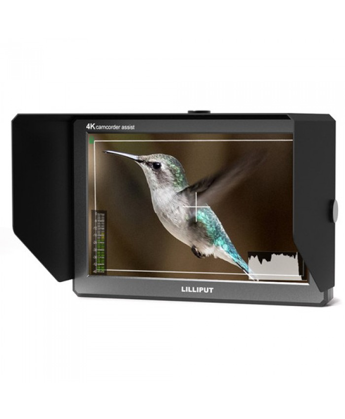 "Lilliput A8S 4K 8.9"" On-Camera HDMI and 3G-SDI Monitor"