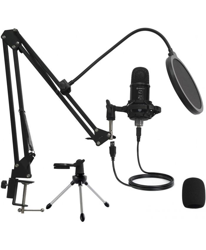 Mirfak Audio TU1 USB Desktop Microphone Kit For Streamers