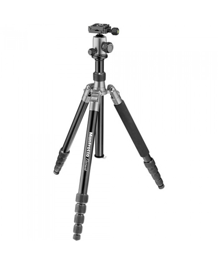 Manfrotto Element Big Aluminum Traveler Tripod Gray