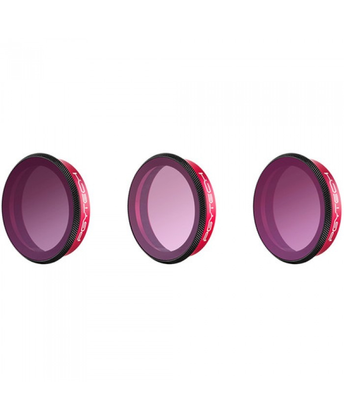 PGYTECH OSMO ACTION ND-PL Filter Gradient Set ND8-GR ND16-4 ND32-8