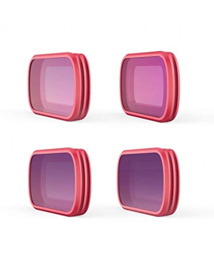 PGYTECH Filter for OSMO Pocket PRO -4pcs SET, ND8, ND16 ,ND32 and ND64