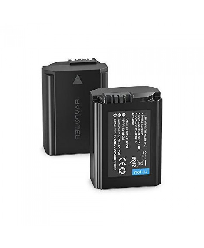 RAVPower Sony NP FW50 Battery 2-Pack