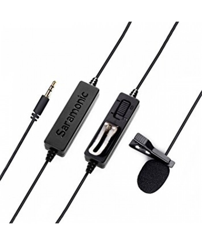 Saramonic LavMicro Broadcast-Quality Lavalier Omnidirectional Microphone
