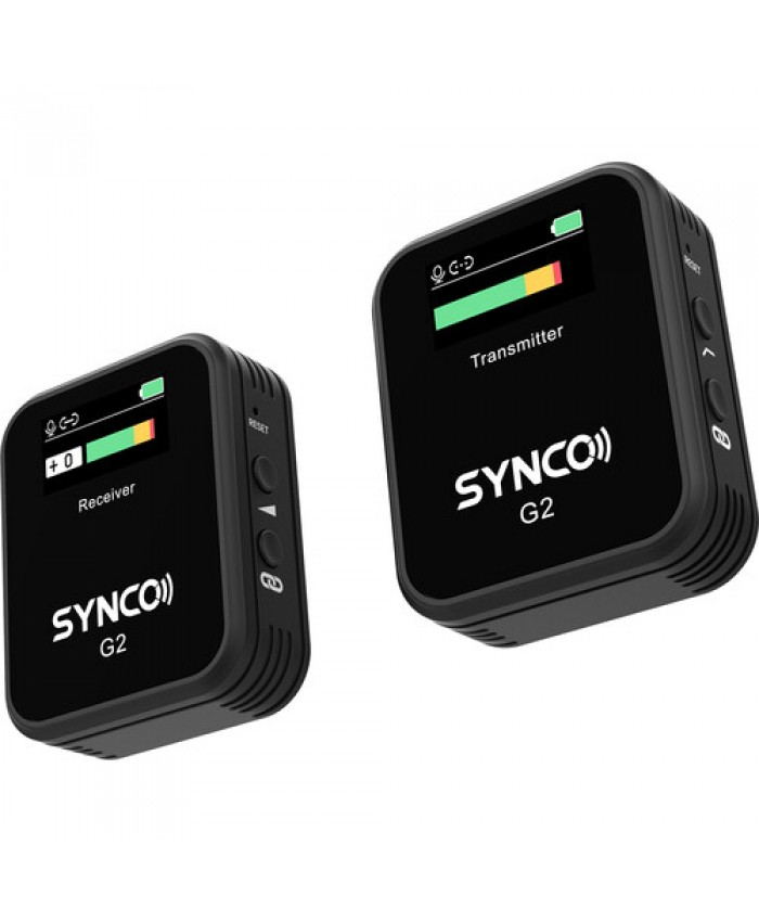 Synco WAir-G2-A1 2.4 GHz Ultracompact Digital Wireless Microphone for Cameras