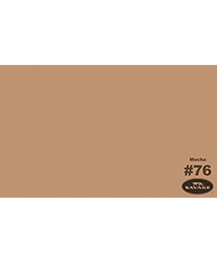 Savage Widetone Seamless Background Paper #76 Mocha 2.7m