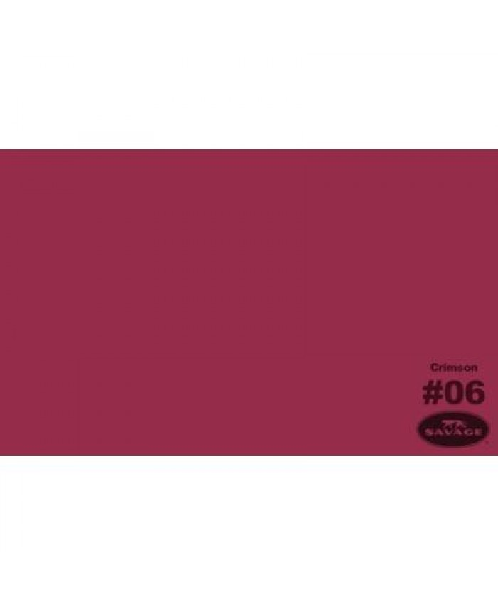 Savage Widetone Seamless Background Paper #06 Crimson 2.7m