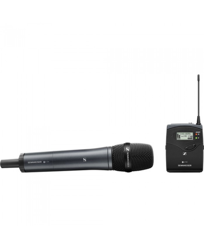 Sennheiser EW 135P G4 Camera-Mount Wireless Cardioid Handheld Microphone System EW 135P G4-B
