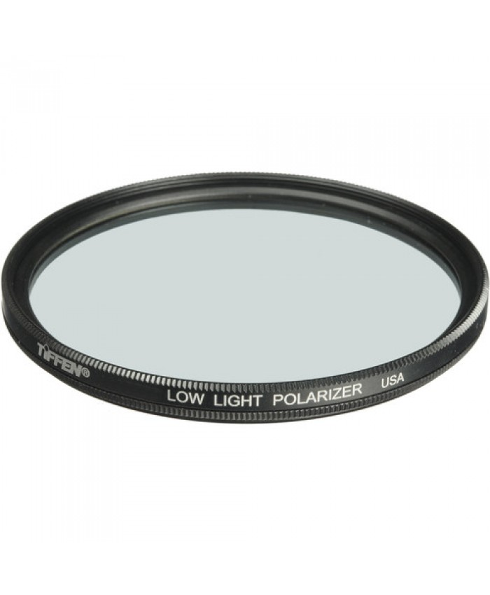 Tiffen 49mm Low Light Linear Polarizer Filter
