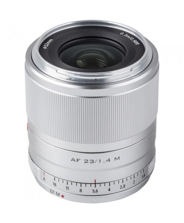 Viltrox AF 23mm f/1.4 M Lens for Canon EF-M Silver