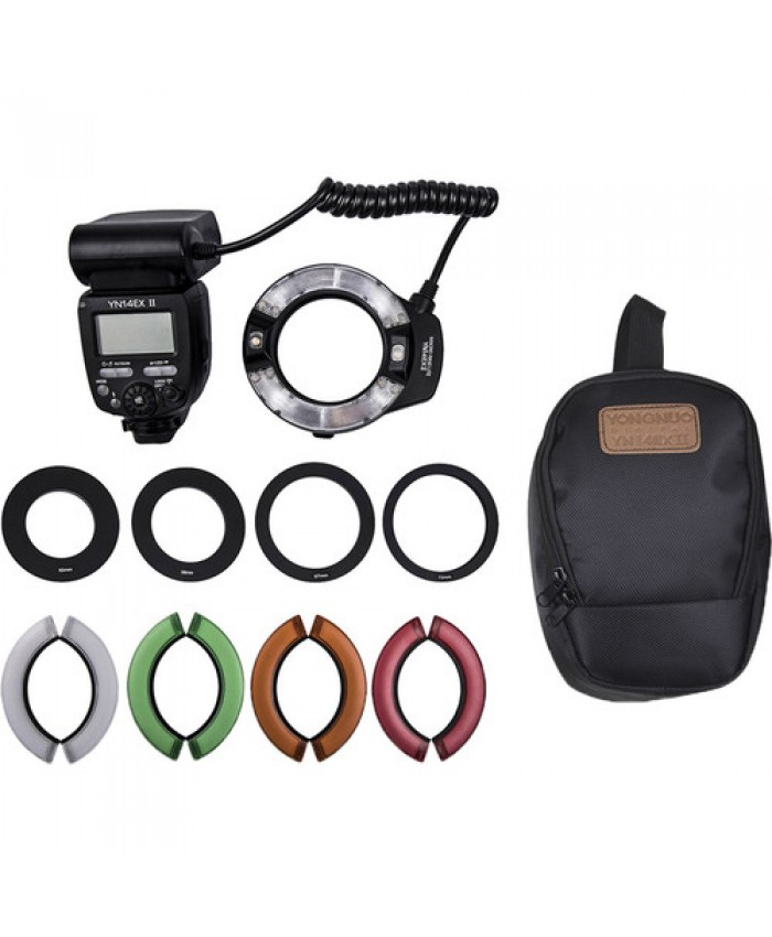 Yongnuo YN-14EX II TTL Macro Ring Flash Kit for Canon