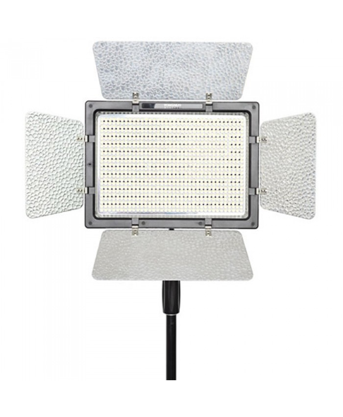 Yongnuo Pro LED YN900C Bi-Color Video Light+ AC Adapter