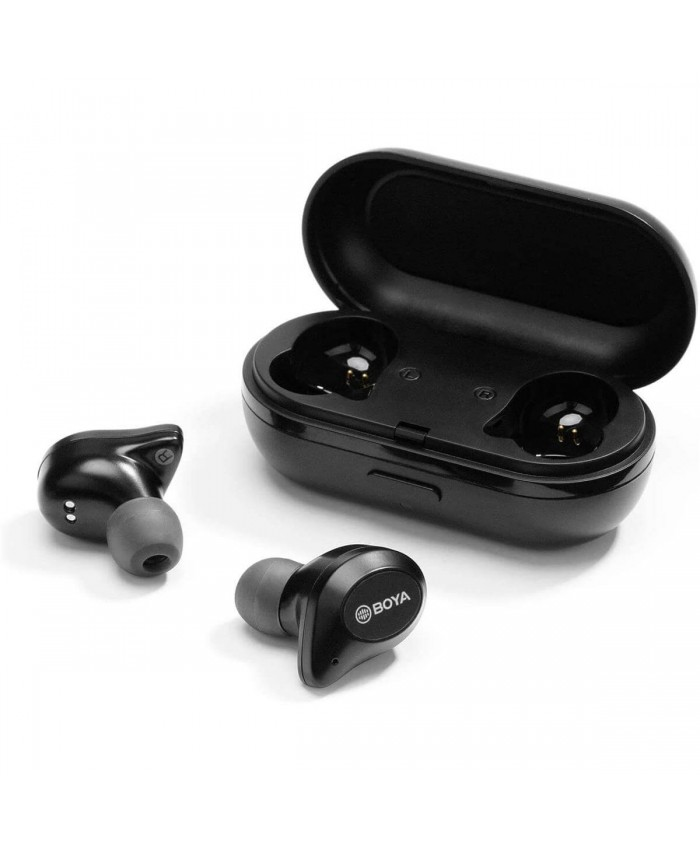 BOYA BY-AP1 True Wireless Stereo Earbuds, Black