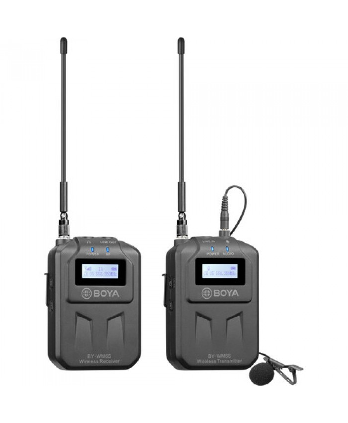 BOYA UHS Wireless Microphone System