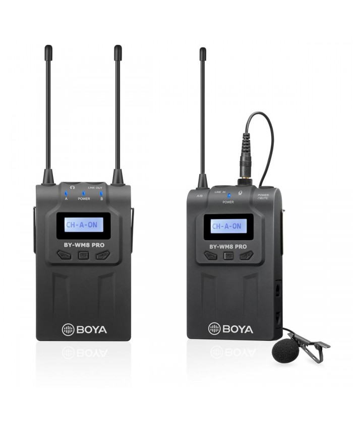 BOYA BY-WM8 PRO Wireless Microphone