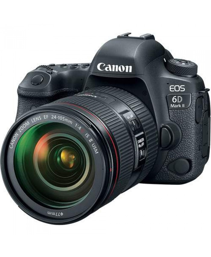 Canon EOS 6D Mark II EF 24-105mm f/4L IS II Kit