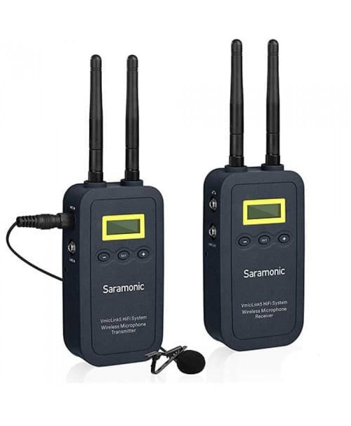 Saramonic VmicLink5 5.8GHz Hi-Fi Wireless Lavalier Microphone System