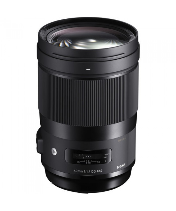 Sigma 40mm f/1.4 DG HSM Art Lens for Canon EF