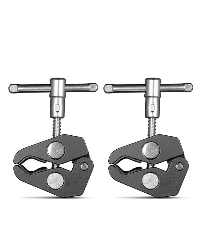 """SmallRig Super Clamp with 1/4"""" and 3/8"""" Thread (2pcs Pack) 2058"""