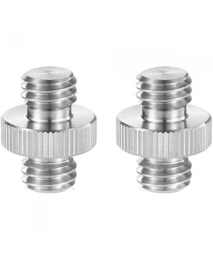 "SmallRig 3/8""-16 Male to 3/8""-16 Male Thread Adapters 2-Pack 1065"