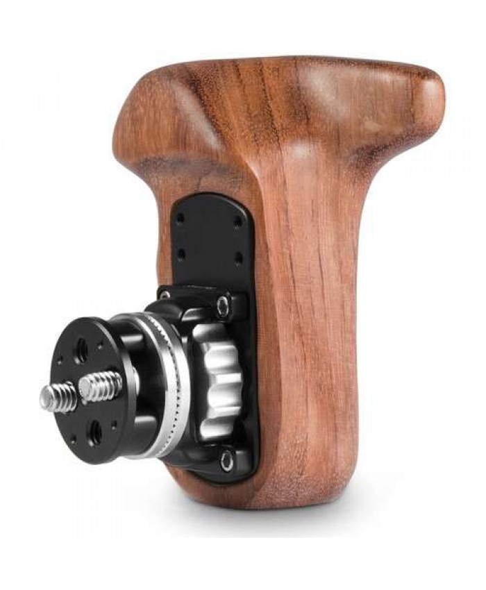 SmallRig Wooden Handgrip with Bolt-On Mount Right Hand 2083B