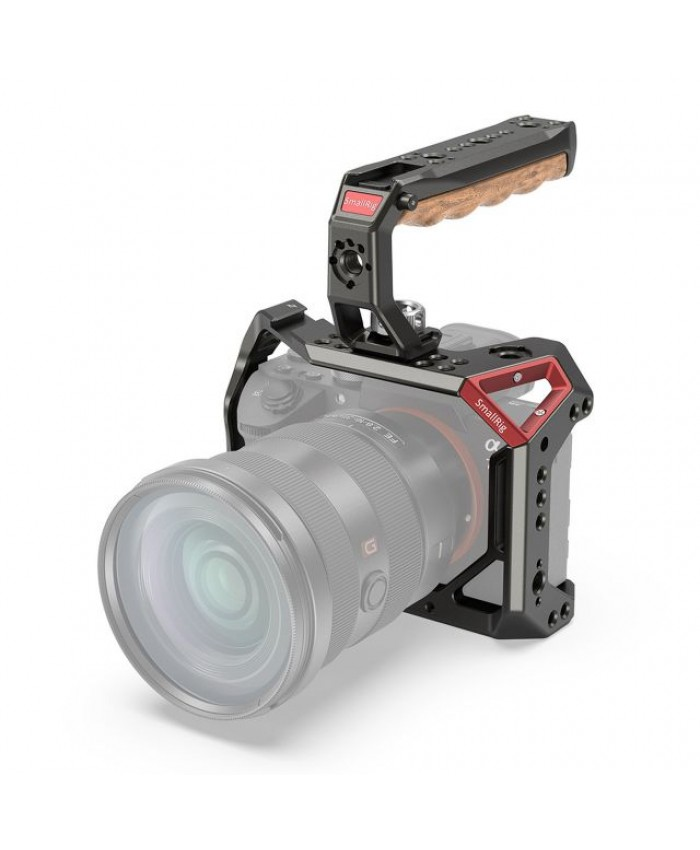 SmallRig Camera Cage and Handle Kit for Sony a7 III and a7R III