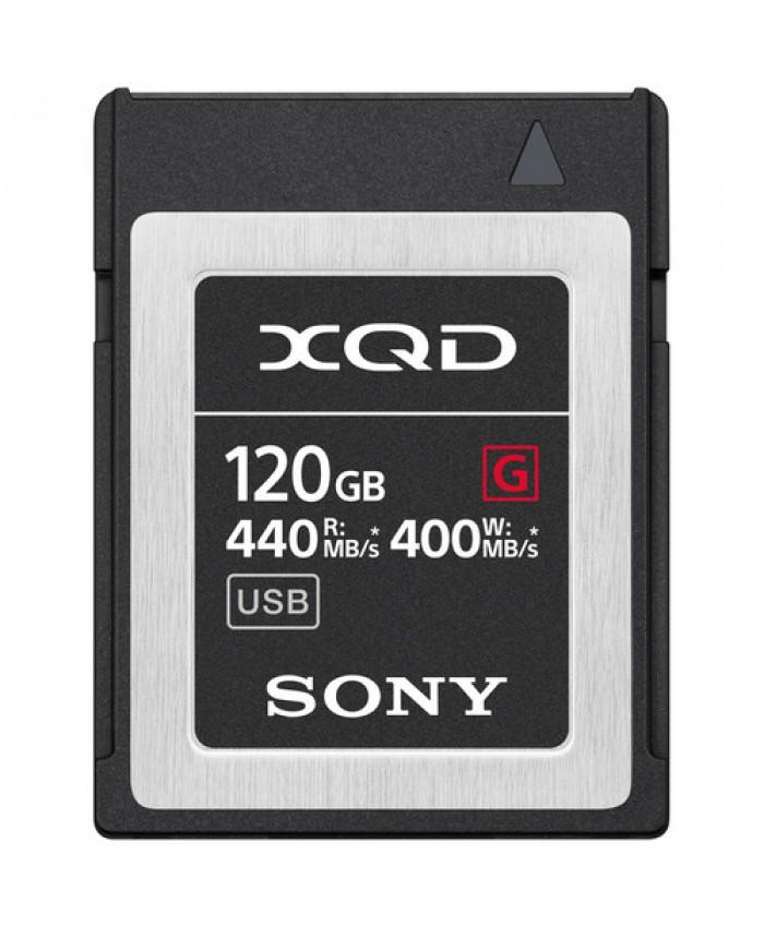Sony 120GB XQD G QD-G120F/J Series Memory Card