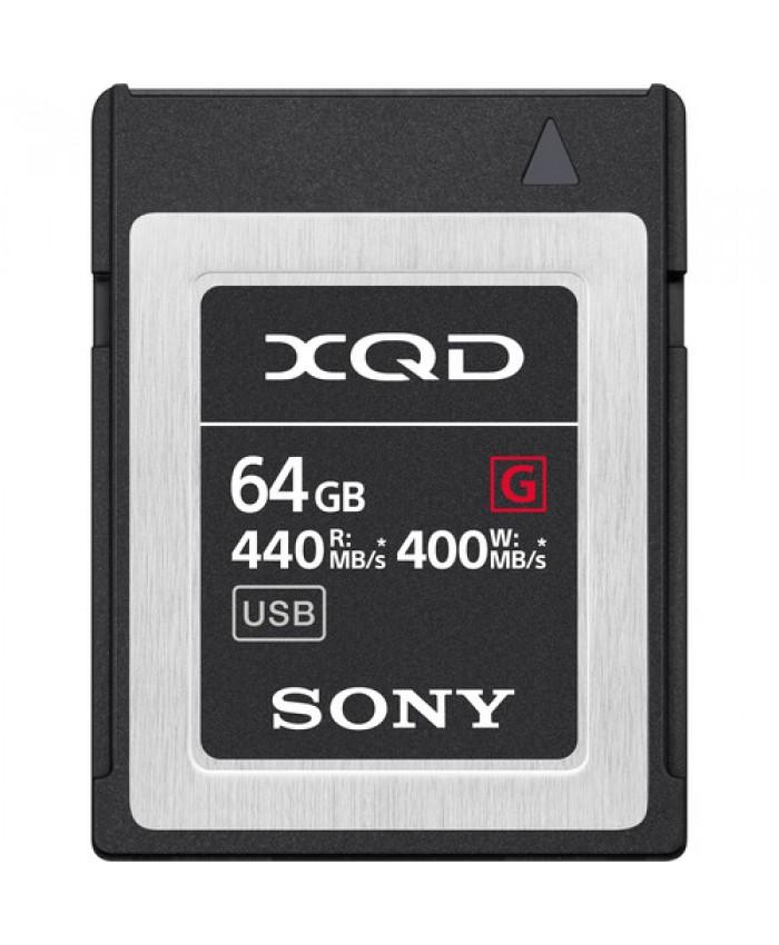 Sony 64GB XQD G QD-G64F/J Series Memory Card