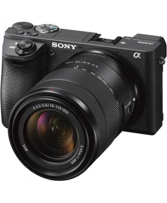 Sony Alpha a6500 Mirrorless Digital Camera with 18-135mm