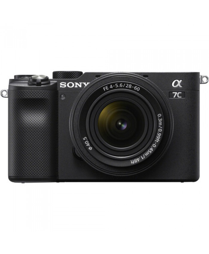 Sony Alpha a7C Mirrorless Digital Camera with 28-60mm Lens Black
