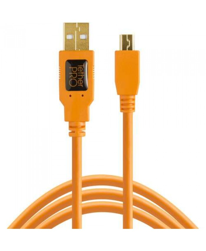 Tether Tools TetherPro USB 2.0 Type-A to 5-Pin Mini-USB Cable 4.6m CU5451