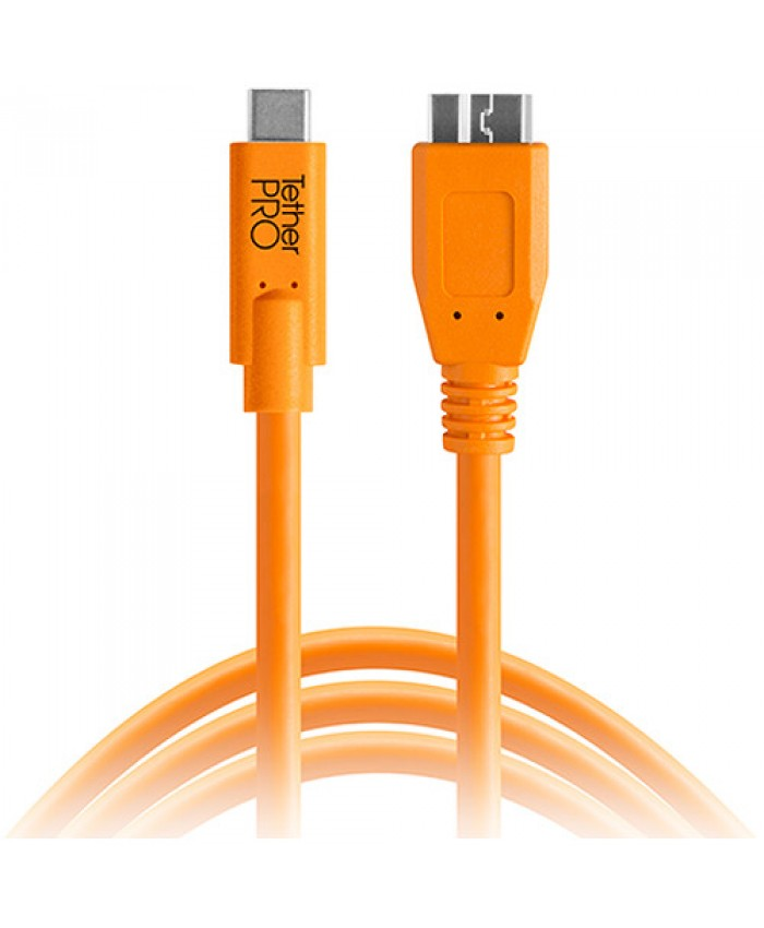 Tether Tools TetherPro USB Type-C Male to Micro-USB 3.0 Type-B Male Cable 4.6m
