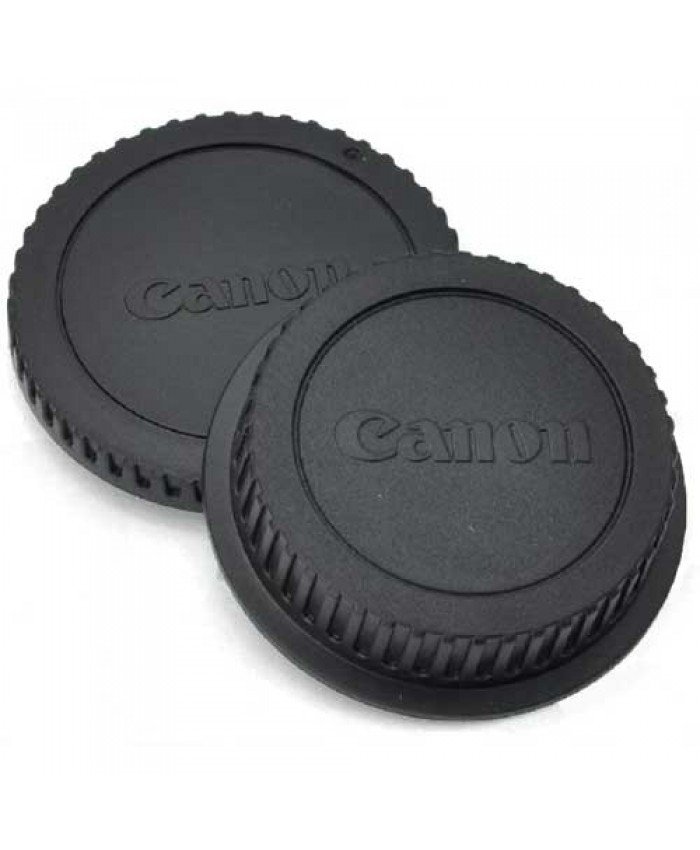 Body & Rear Lens Cap for Canon