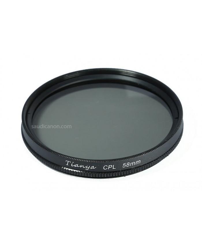 Tianya CPL Filter 58mm