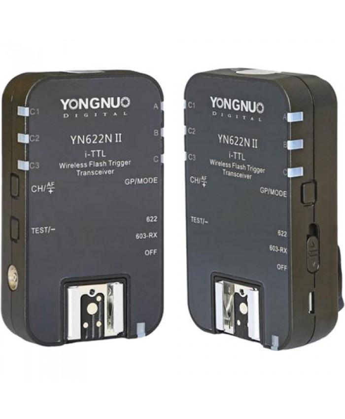 Yongnuo YN-622N II E-TTL Wireless Flash Transceiver for Nikon 2-Pack