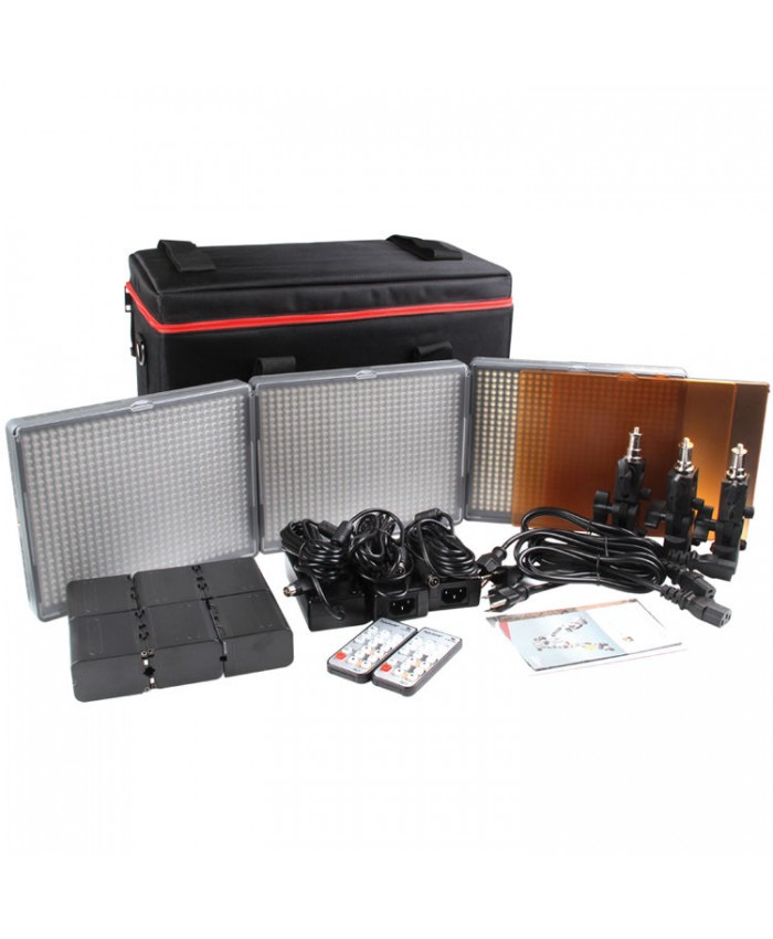 Aputure Amaran HR672 LED Video Light Kit CCC
