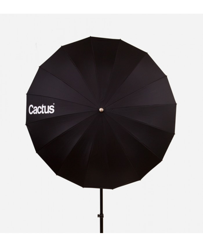 "Cactus Fiberglass 40"" Black/White Reflector Umbrella F-403"