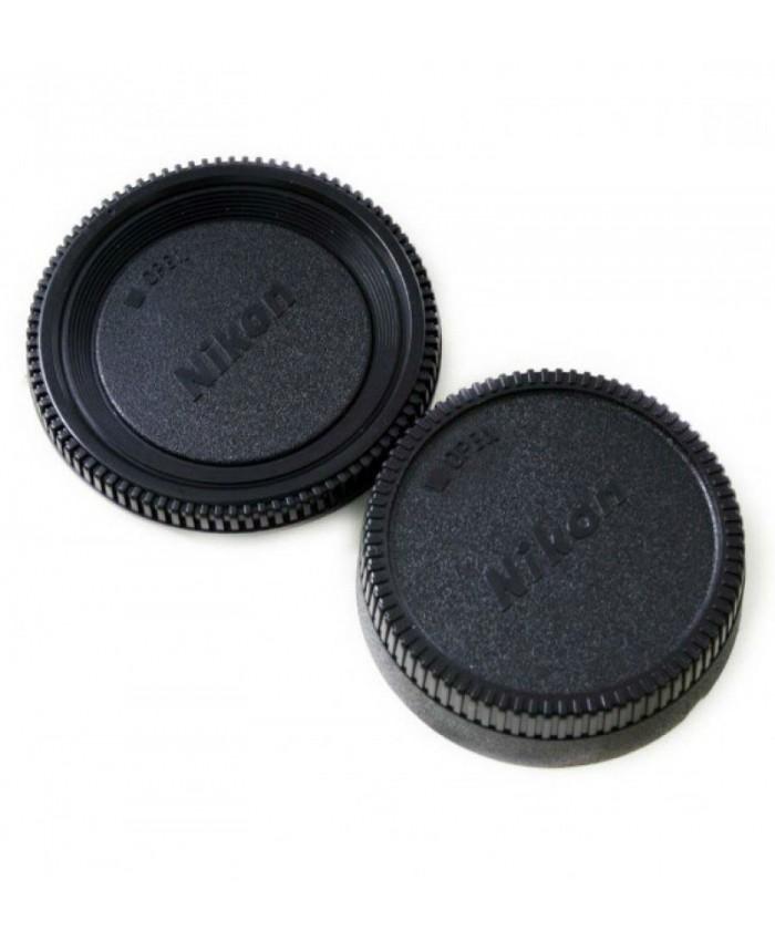Body & Rear Lens Cap for Nikon