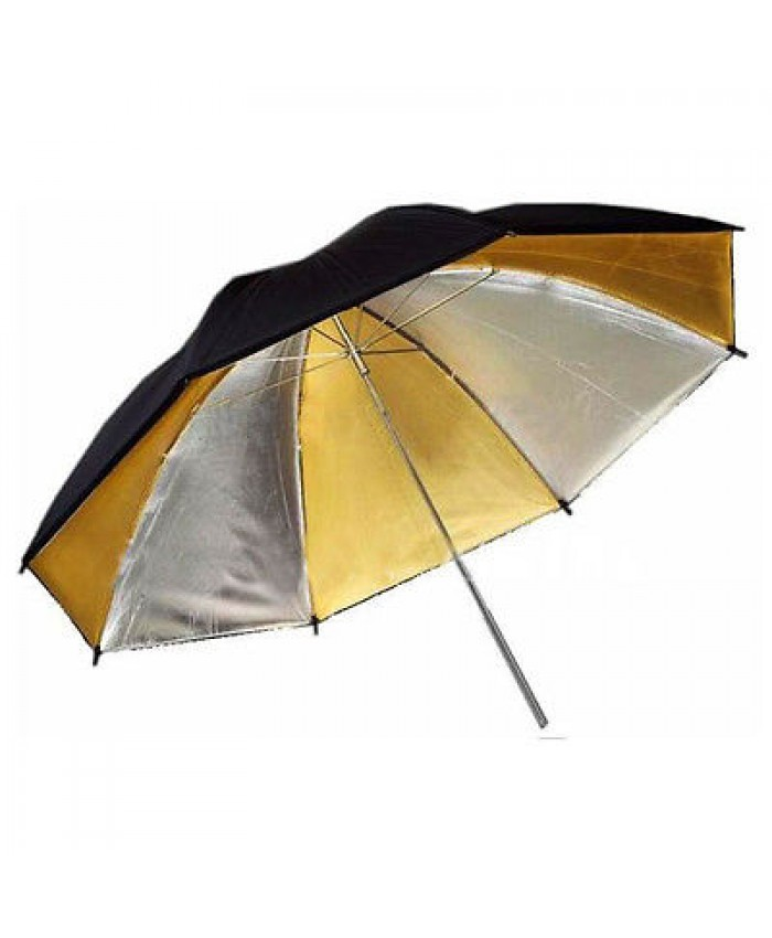 Weifeng Umbrella Black/Golden/Silver -33 Inch