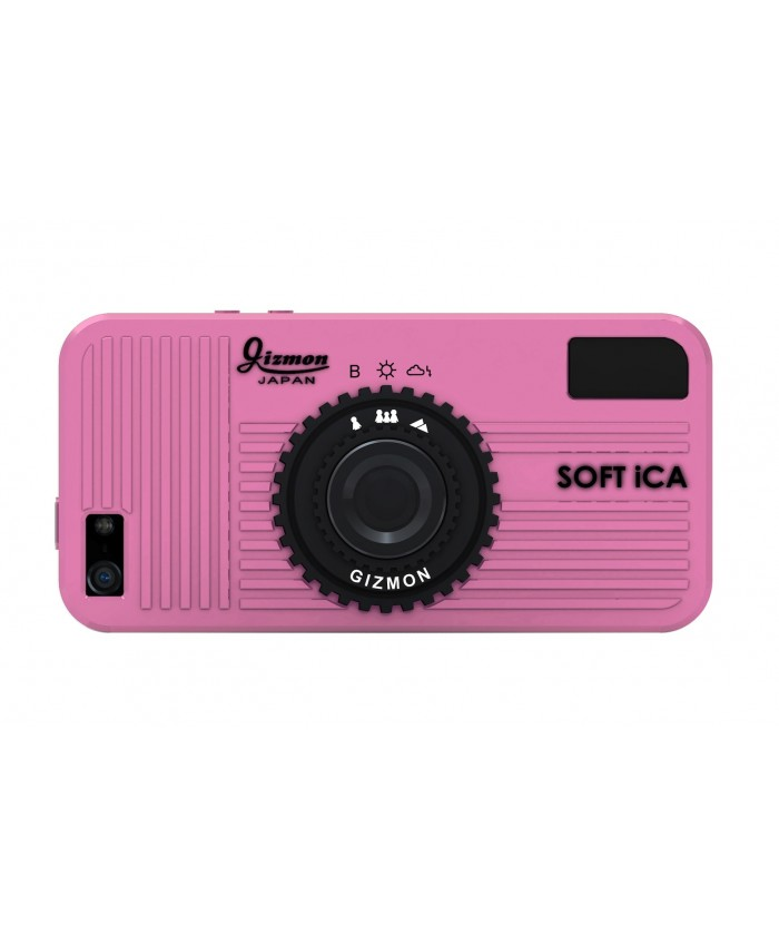 GIZMON SOFT iCA PINKiPhone5/5S