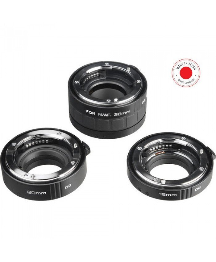 Kenko Auto Extension Tube Set DG for Nikon Lenses