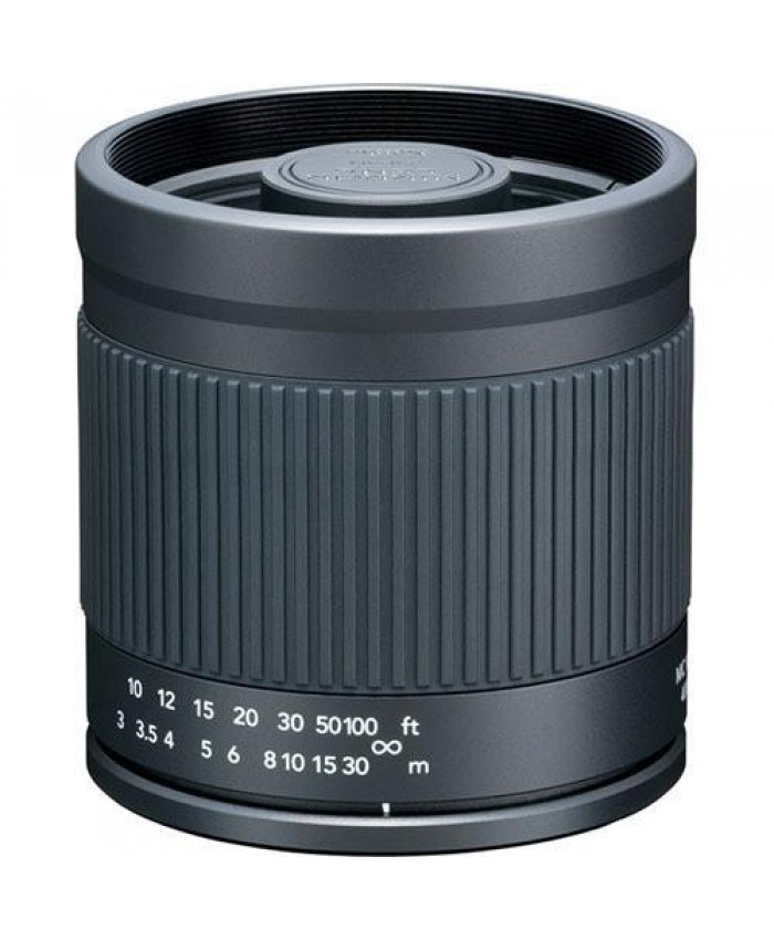 Kenko 400mm f/8.0 Mirror Lens for Canon - Black