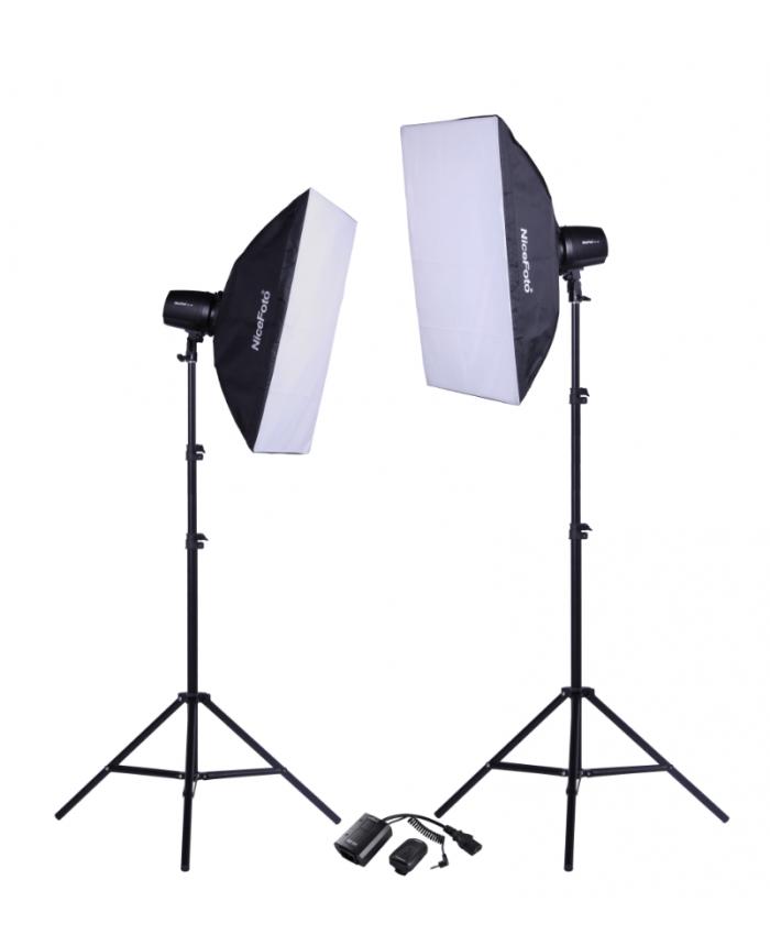 NiceFoto Studio Flash kit KT-406