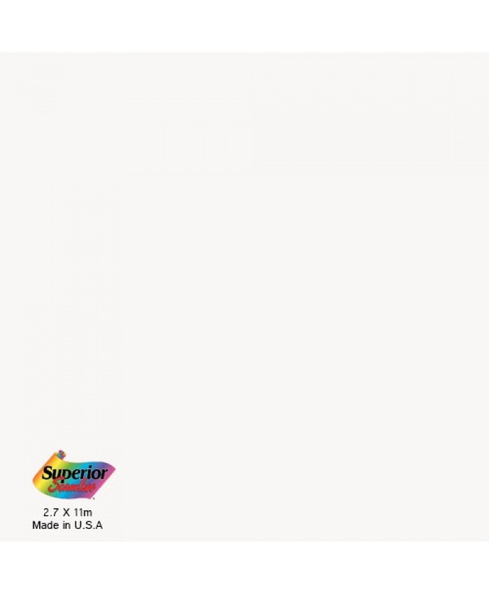 Superior Specialties 2.72M Arctic White Seamless background paper