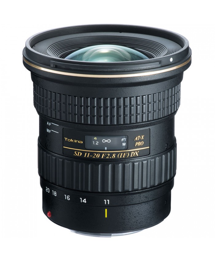 Tokina AT-X 11-20mm f/2.8 PRO DX Lens for Nikon