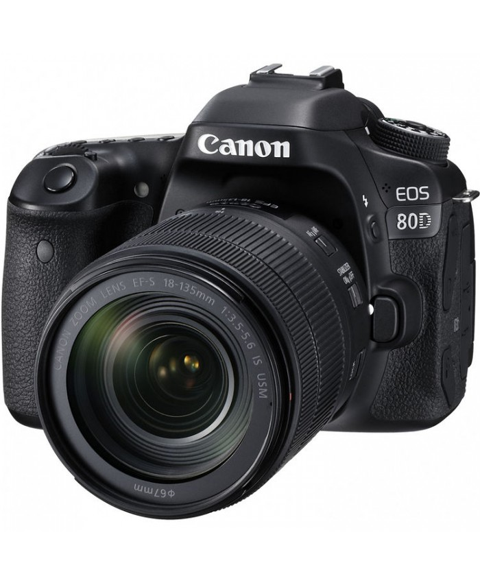 Canon EOS 80D Kit 18-135mm USM IS