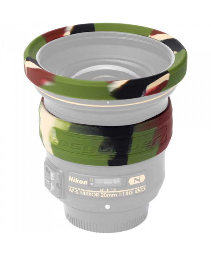 easyCover 77mm Lens Rim Camouflage