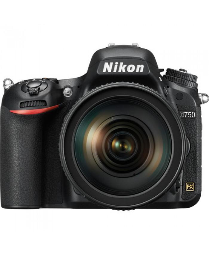 Nikon D750 24-120mm + 32GB