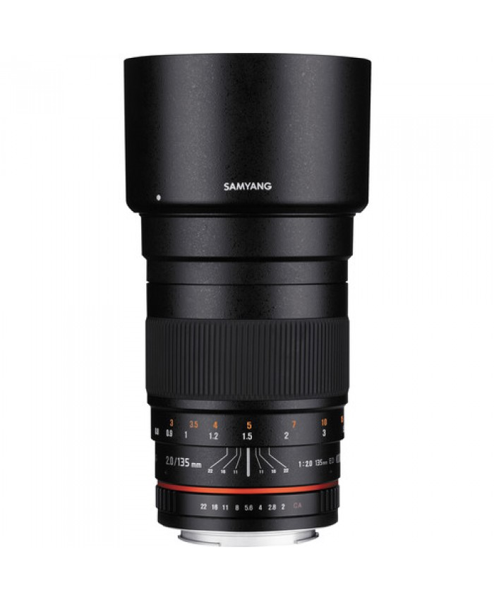 Samyang 135mm f/2.0 ED UMC Lens for Canon EF Mount